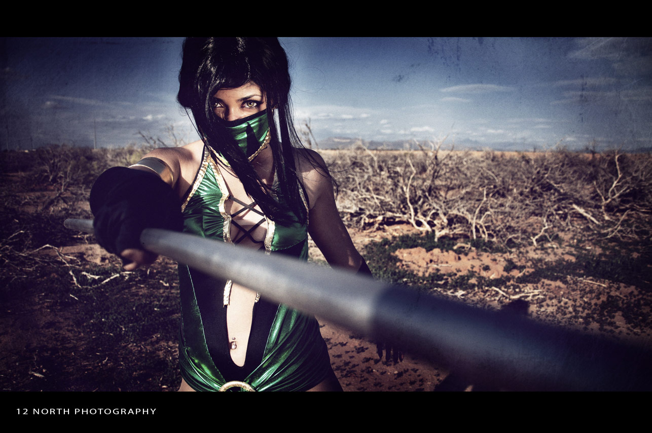 Grindhouse styled Mortal Kombat cosplay images from 12 North Photography #6