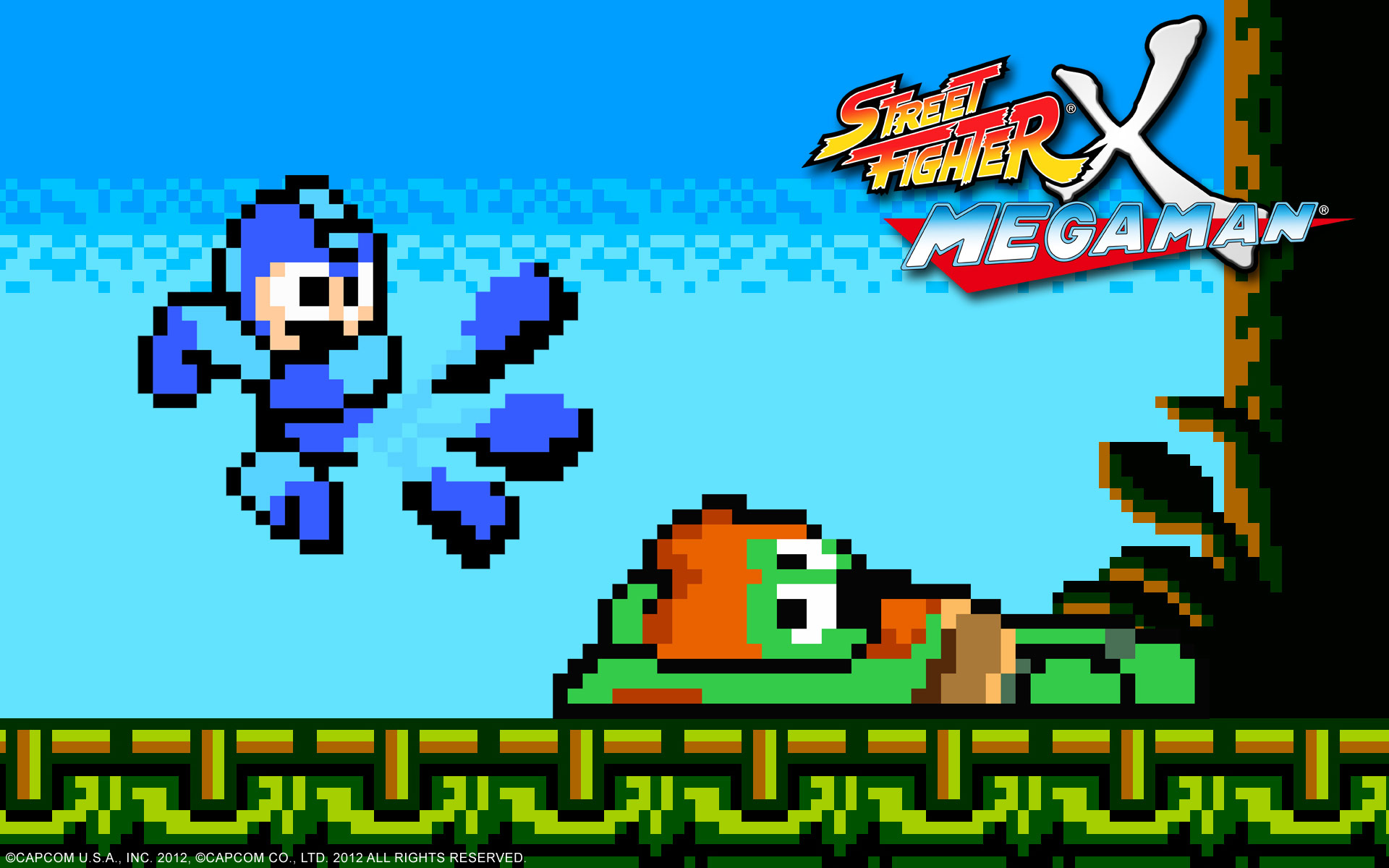 Street Fighter X Mega Man wallpaper #1
