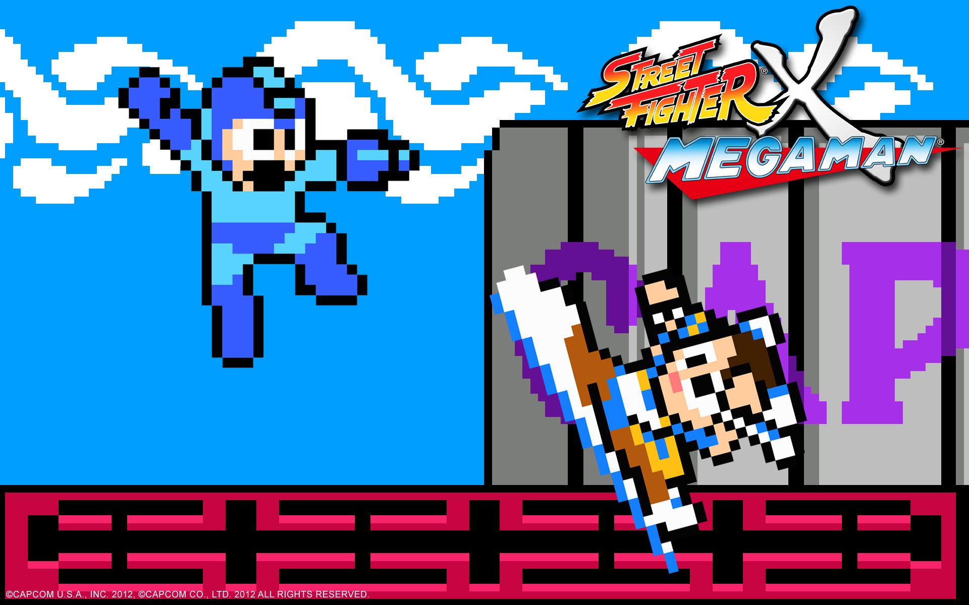 Street Fighter X Mega Man wallpaper #2