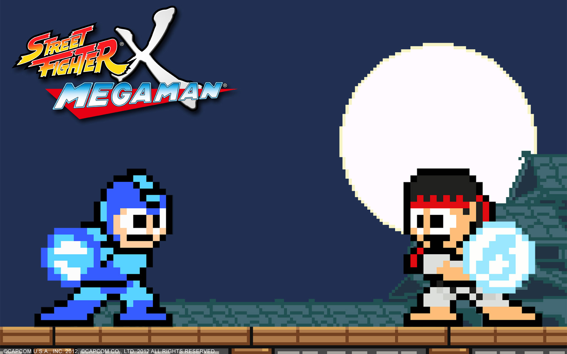 Street Fighter X Mega Man wallpaper #5