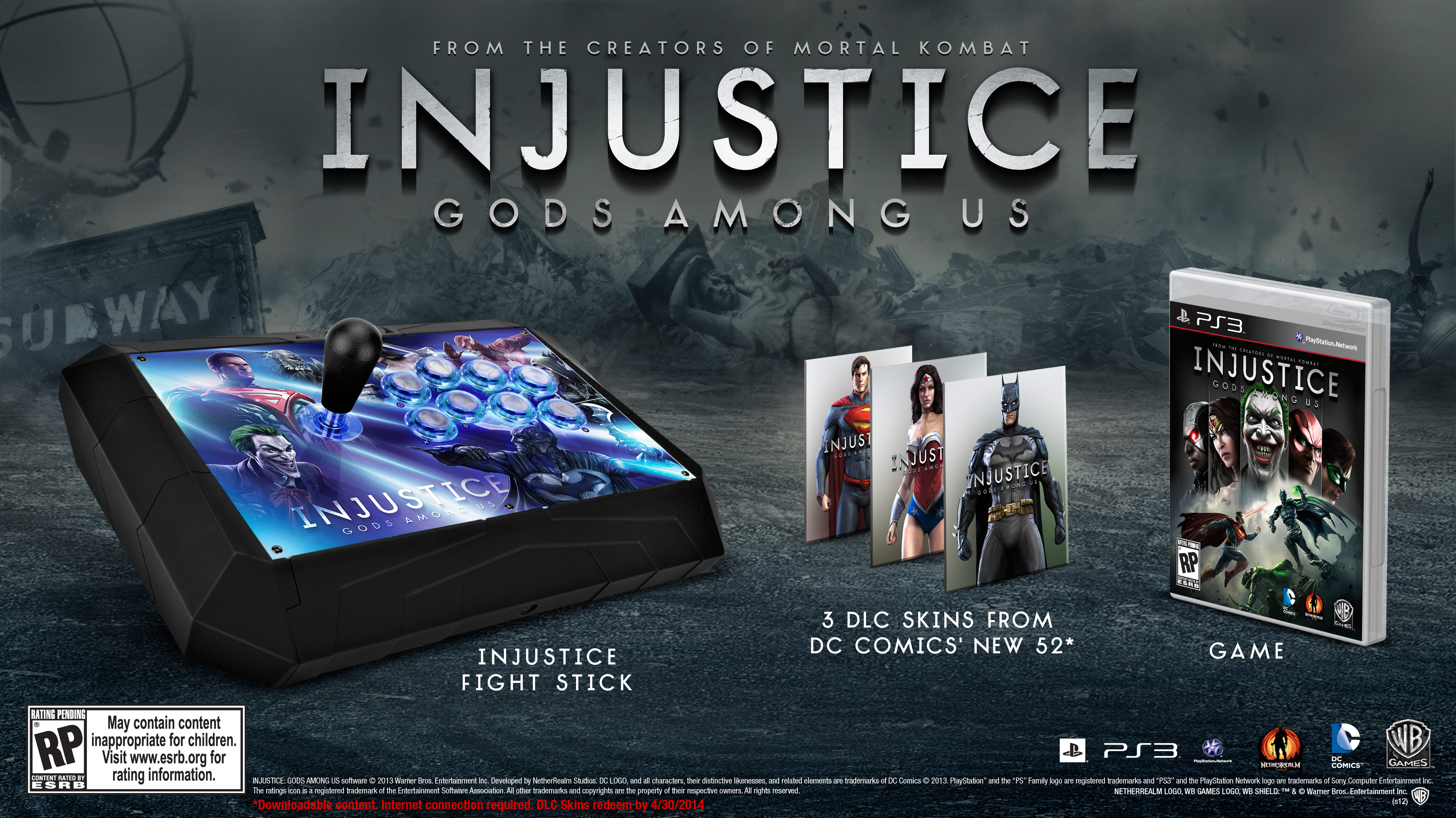 Injustice: Gods Among Us bundle image #1