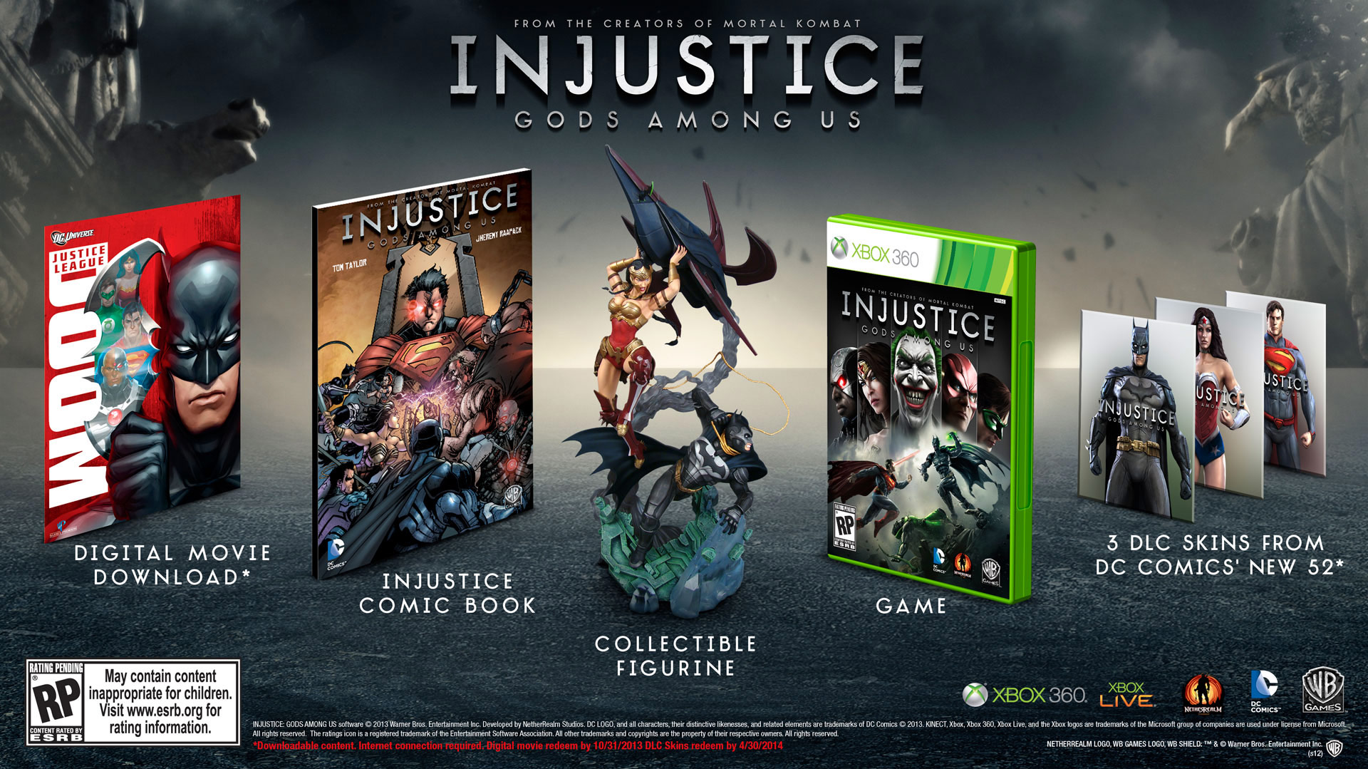 Injustice: Gods Among Us bundle image #2