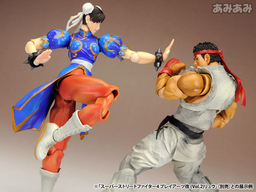 Chun-Li Street Fighter 4 Play Arts Kai action figure image #2