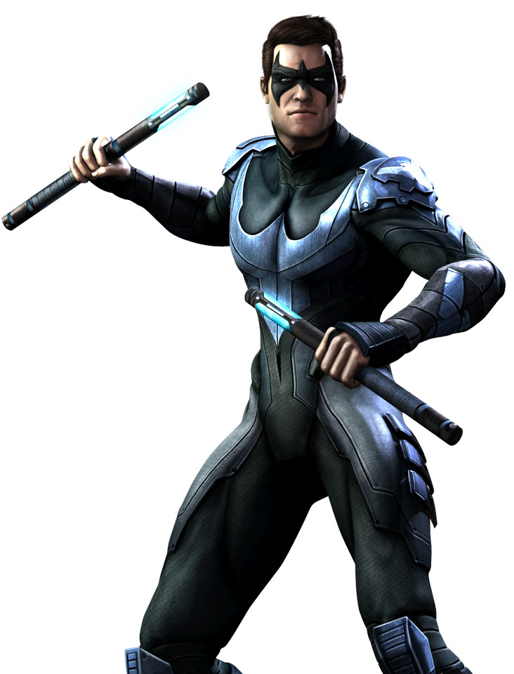 what characters are in injustice gods among us