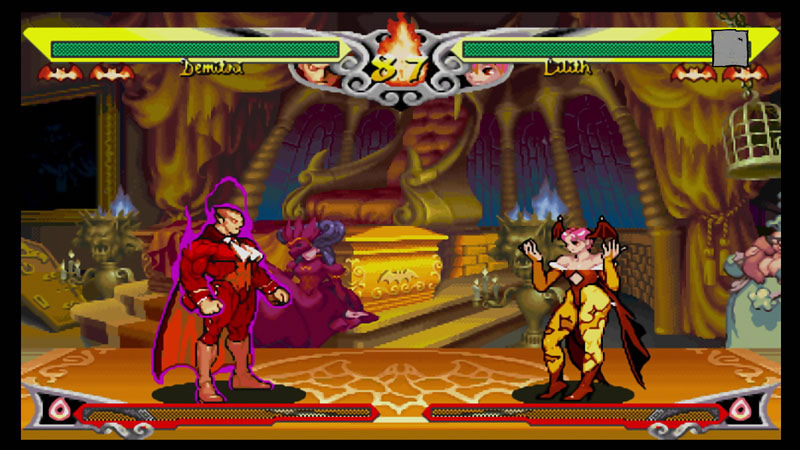 Darkstalkers Resurrection graphic filter options #6