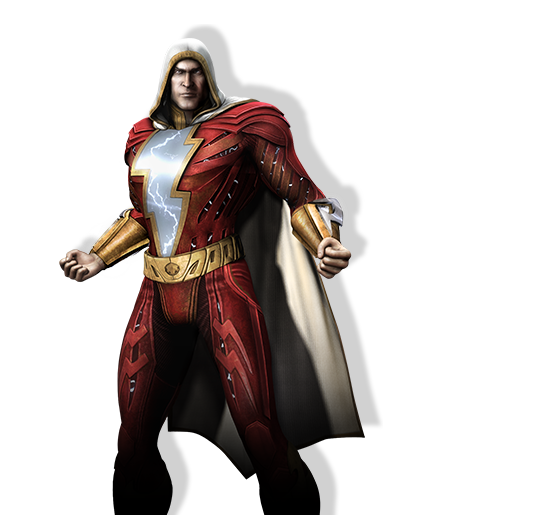 Shazam spotted on the Injustice: Gods Among Us website #01