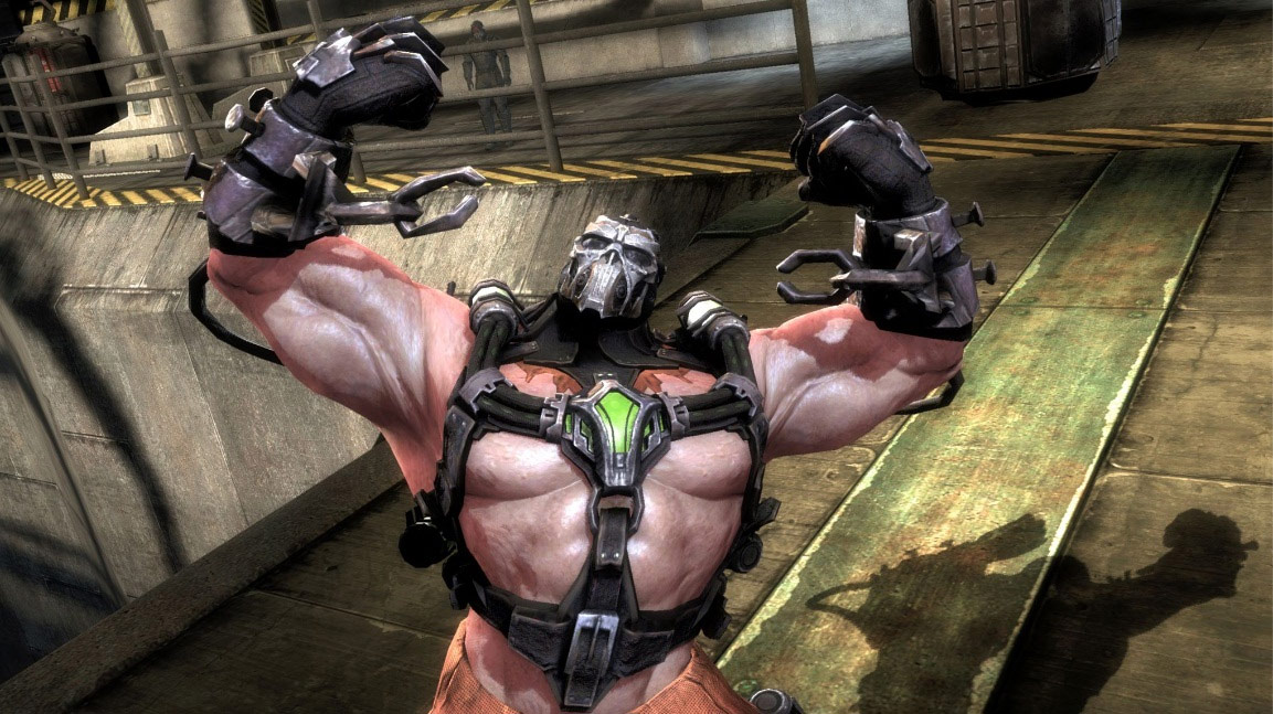 Bane's alternate costume in Injustice: Gods Among Us
