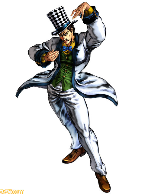 JJBA All Star Battle Character Screen #4