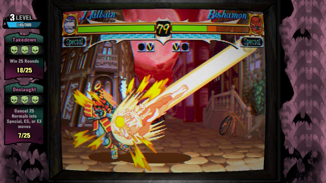 Darkstalkers Resurrection graphic filters and viewpoints #02