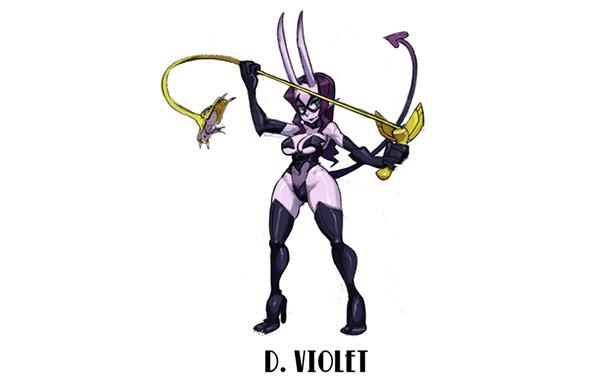Skullgirls mystery characters #05