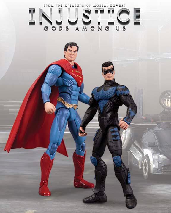 Injustice: Gods Among Us figurines #02