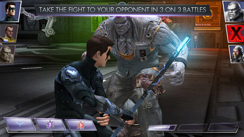 Injustice: Gods Among Us iOS screen shot #2