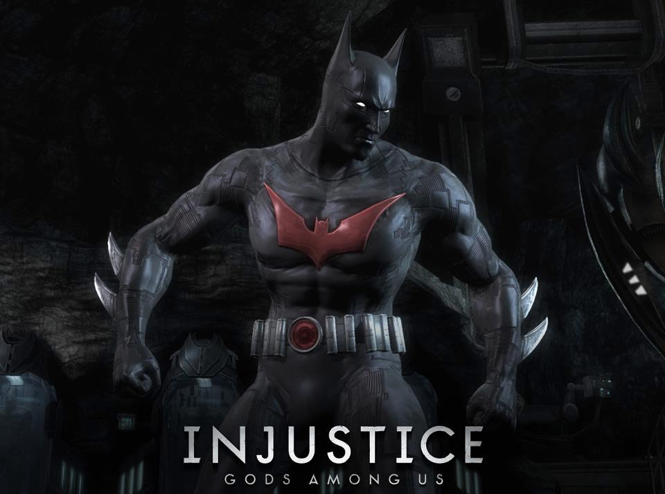 Batman Beyond alternate costume in Injustice: Gods Among Us