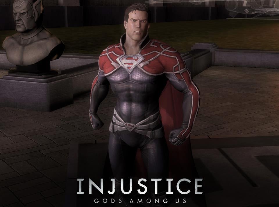 Superman s Godfall alternate costume in Injustice  Gods Among Us