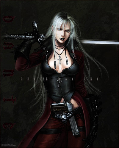 Female versions of classic fighting game characters image #2
