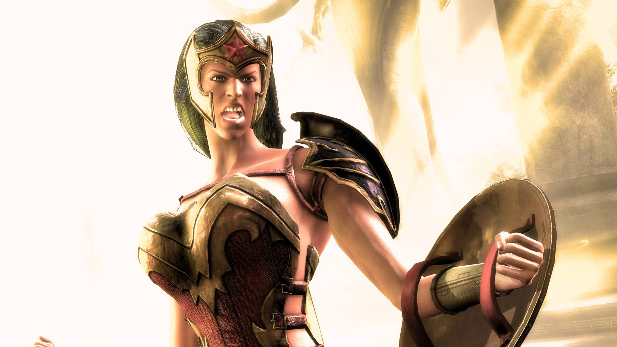 Wonder Woman's Ame-Comi skin in Injustice: Gods Among Us