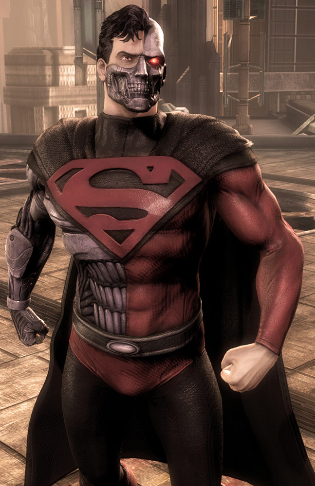 Cyborg Superman skin in Injustice: Gods Among Us