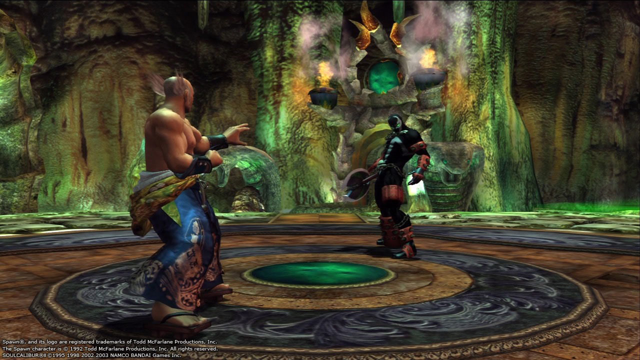 Soul Calibur 2 HD Spawn and Heihachi image #4
