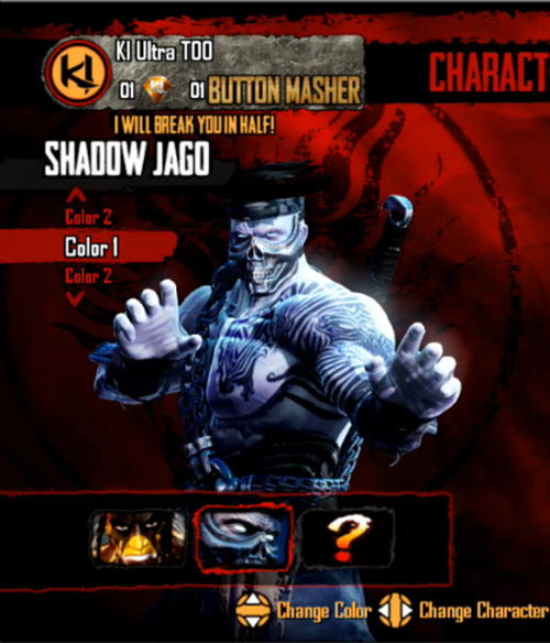 Shadow Jago makes his first appearance in Killer Instinct