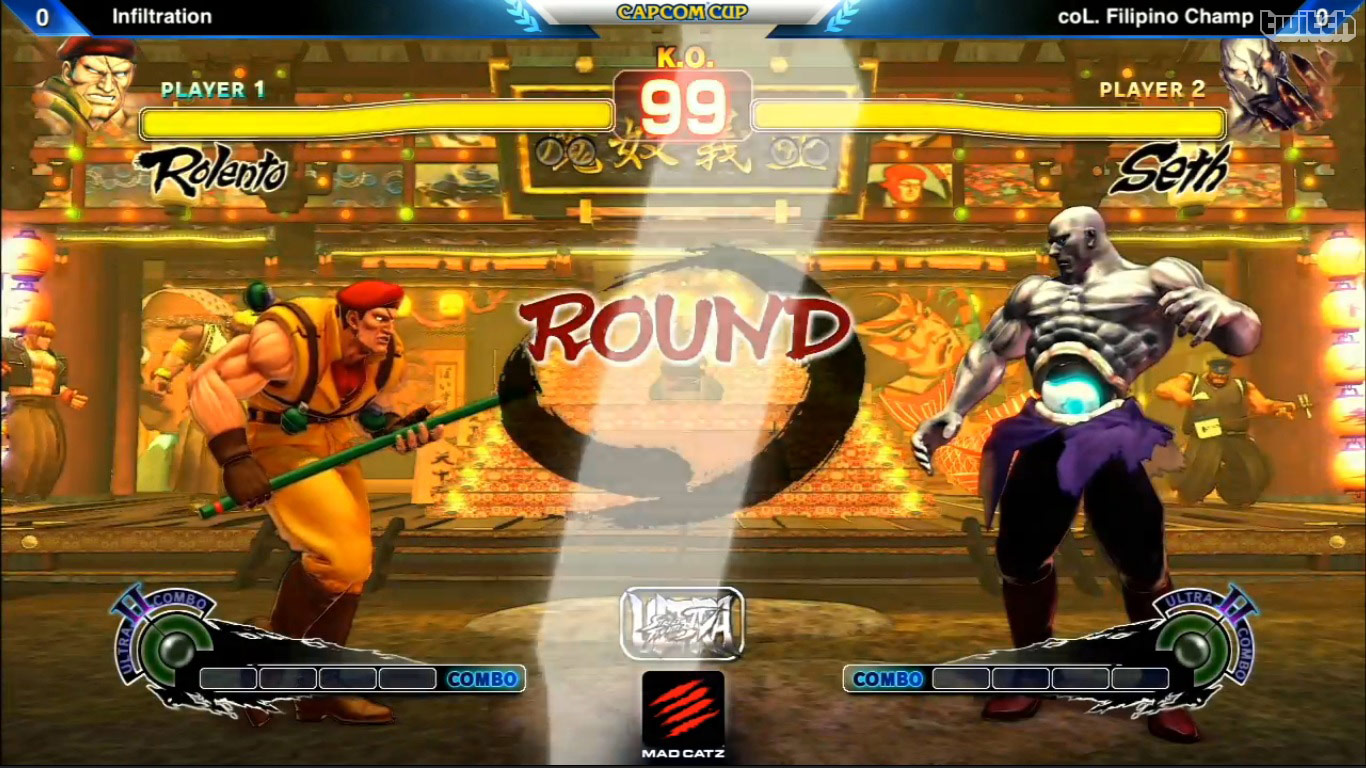 Ultra street fighter iv как сделать на весь экран