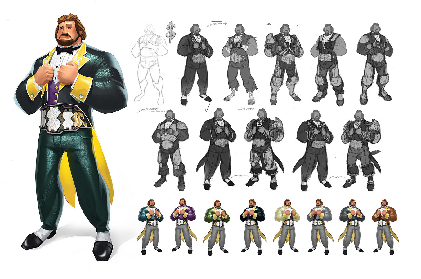 WWE Concept Art From A Cancelled Game Image 2