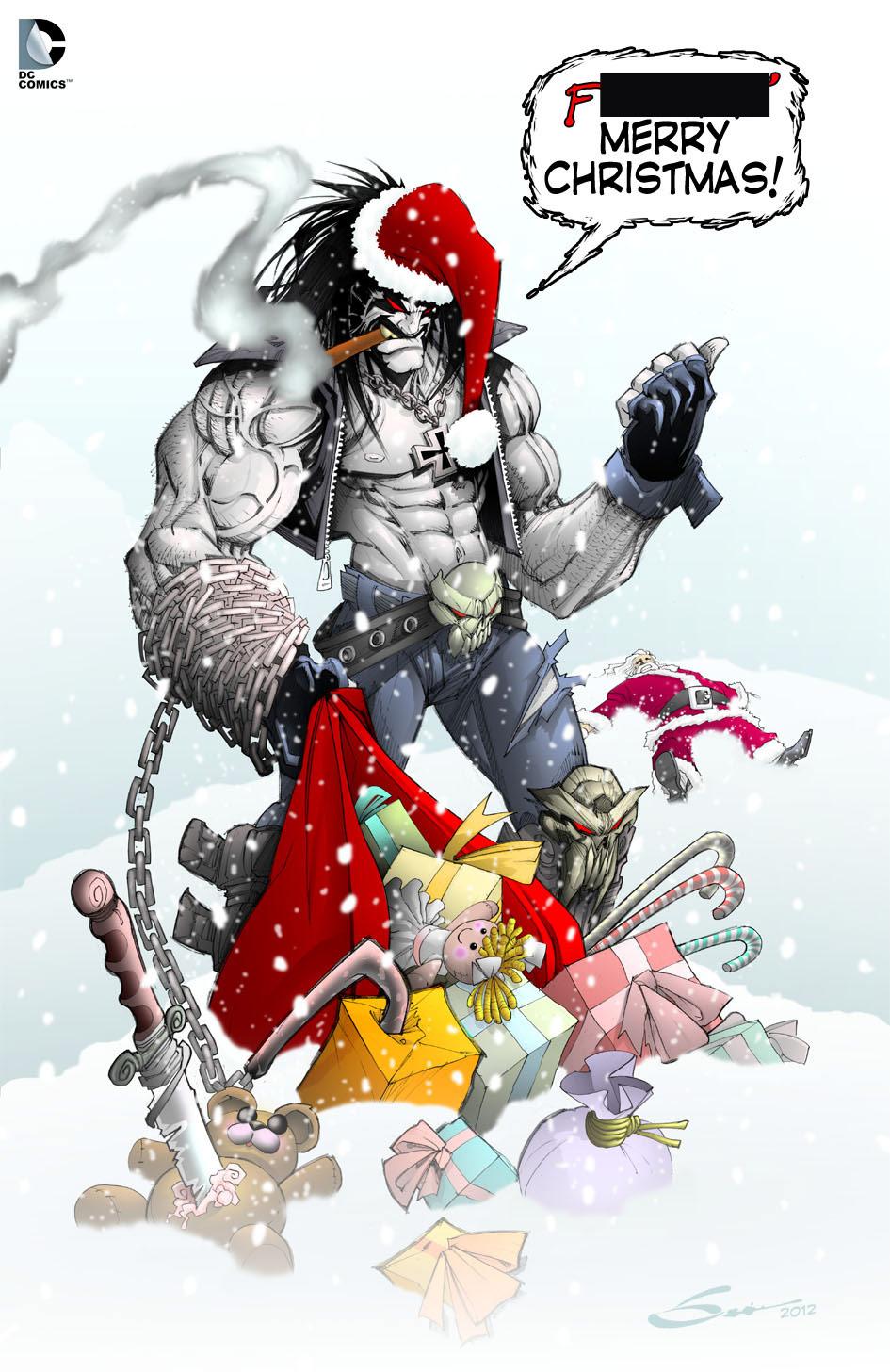 Christmas cosplay and artwork gallery image #7
