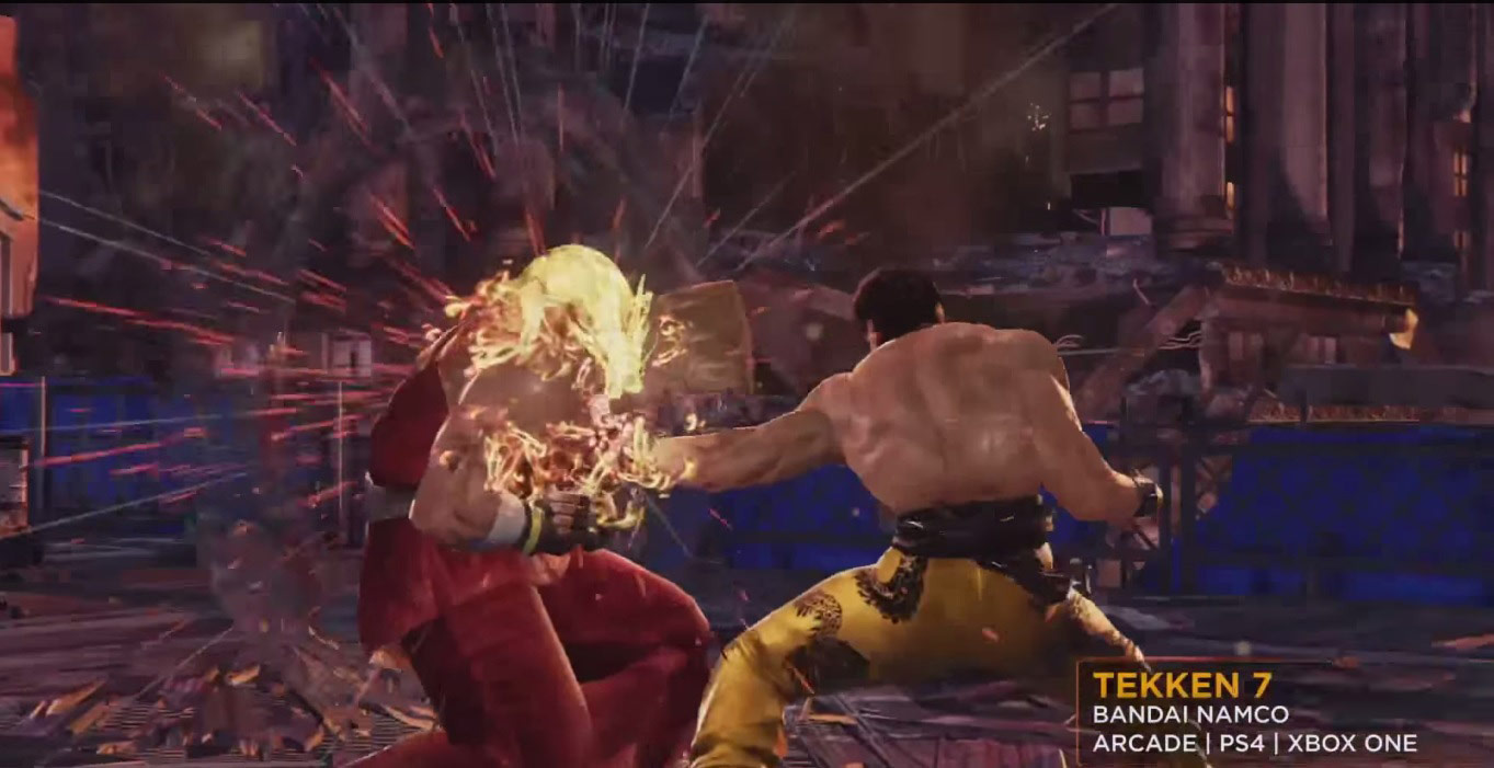Unreal Engine trailer shows Tekken 7 is getting Xbox One/PS4 release