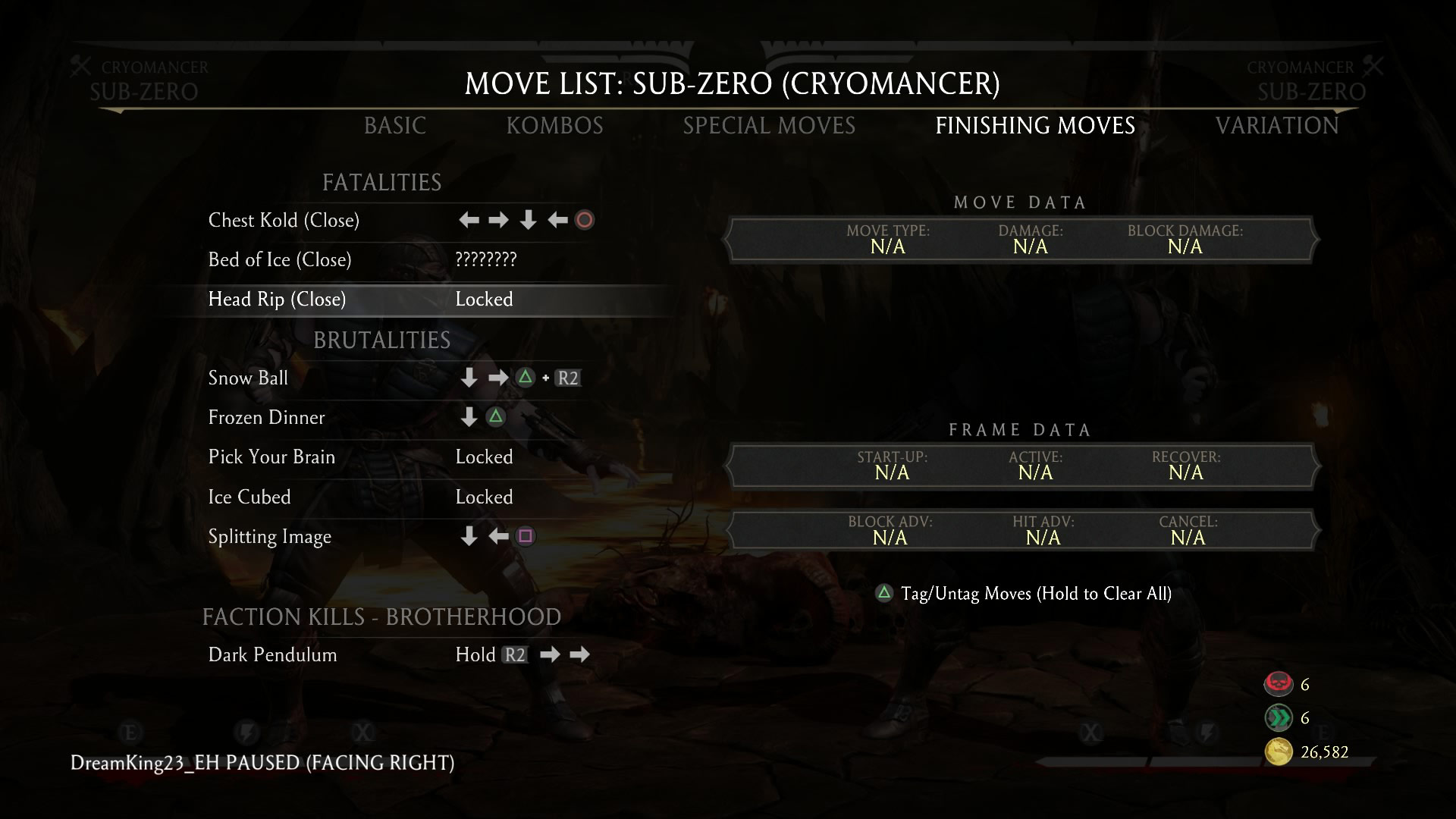 Mortal Kombat X Klassic Fatalities For Scorpion Sonya Sub Zero