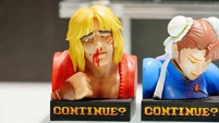 Street Fighter 2 'Continue' statues image #1