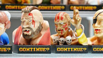 Street Fighter 2 'Continue' statues image #2