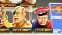Street Fighter 2 'Continue' statues image #5