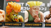 Street Fighter 2 'Continue' statues image #6