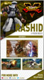 Rashid's Street Fighter 5 trading card image #1