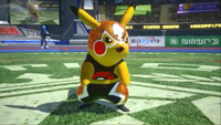 Masked Pikachu in Pokkèn Tournament image #1