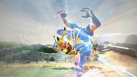 Masked Pikachu in Pokkèn Tournament image #3