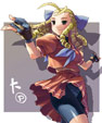Karin Street Fighter artwork through the years image #11