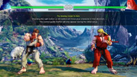 Street Fighter 5 beta tutorial images image #1