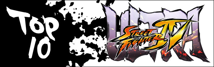 Who are the top 10 Ultra Street Fighter 4 players currently?