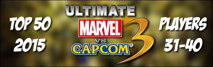 EventHubs 2015 top 50 Ultimate Marvel vs. Capcom 3 players 31-40 - Evil Geniuses land multiple spots