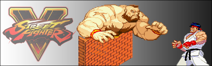 Capcom: Zangief is super technical in Street Fighter 5, has the best throw range - his concept is a wall that moves towards you