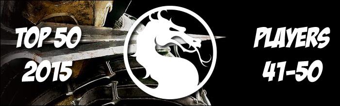 EventHubs 2015 top 50 Mortal Kombat X players 41-50 - YOMI, GGA, EMPR and EVB all represent early