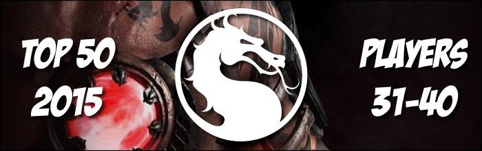 EventHubs 2015 top 50 Mortal Kombat X players 31-40 - Tom Brady, ChrisG, Mustard, Footwurk and BigD enter the fray