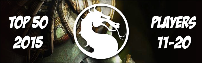 EventHubs 2015 top 50 Mortal Kombat X players 11-20 - Dizzy, Salt, Ketchup, Scar, AlucarD all find spots in the top 20