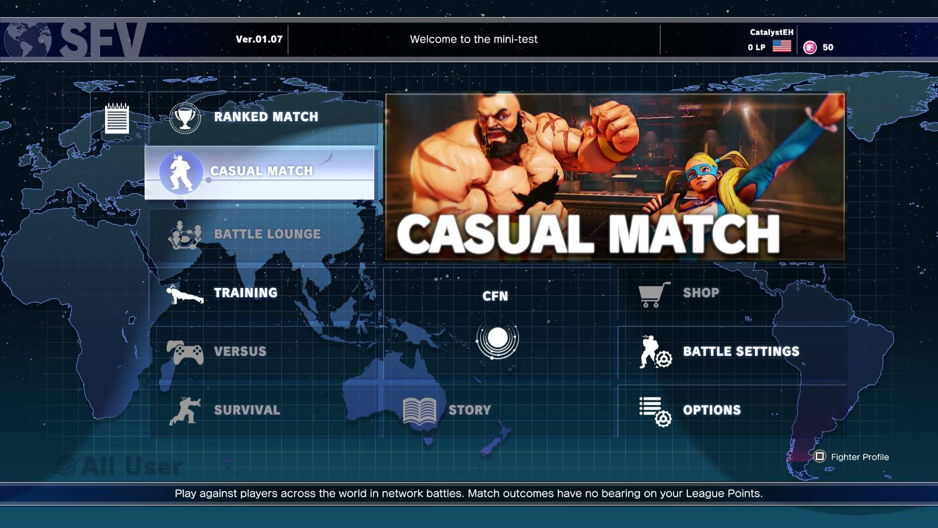 how to tell when you made your fighter id capcom