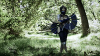 Kitana's fans built in real life by Man At Arms image #4