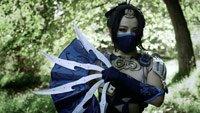 Kitana's fans built in real life by Man At Arms image #5