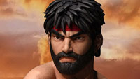 Hot, Evil, and Regular Ryu statues image #4