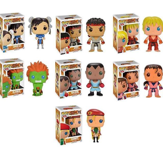 Street Fighter Funko Pop Figures