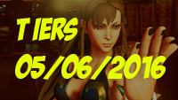 Street Fighter tiers May 6th, 2016 image #1