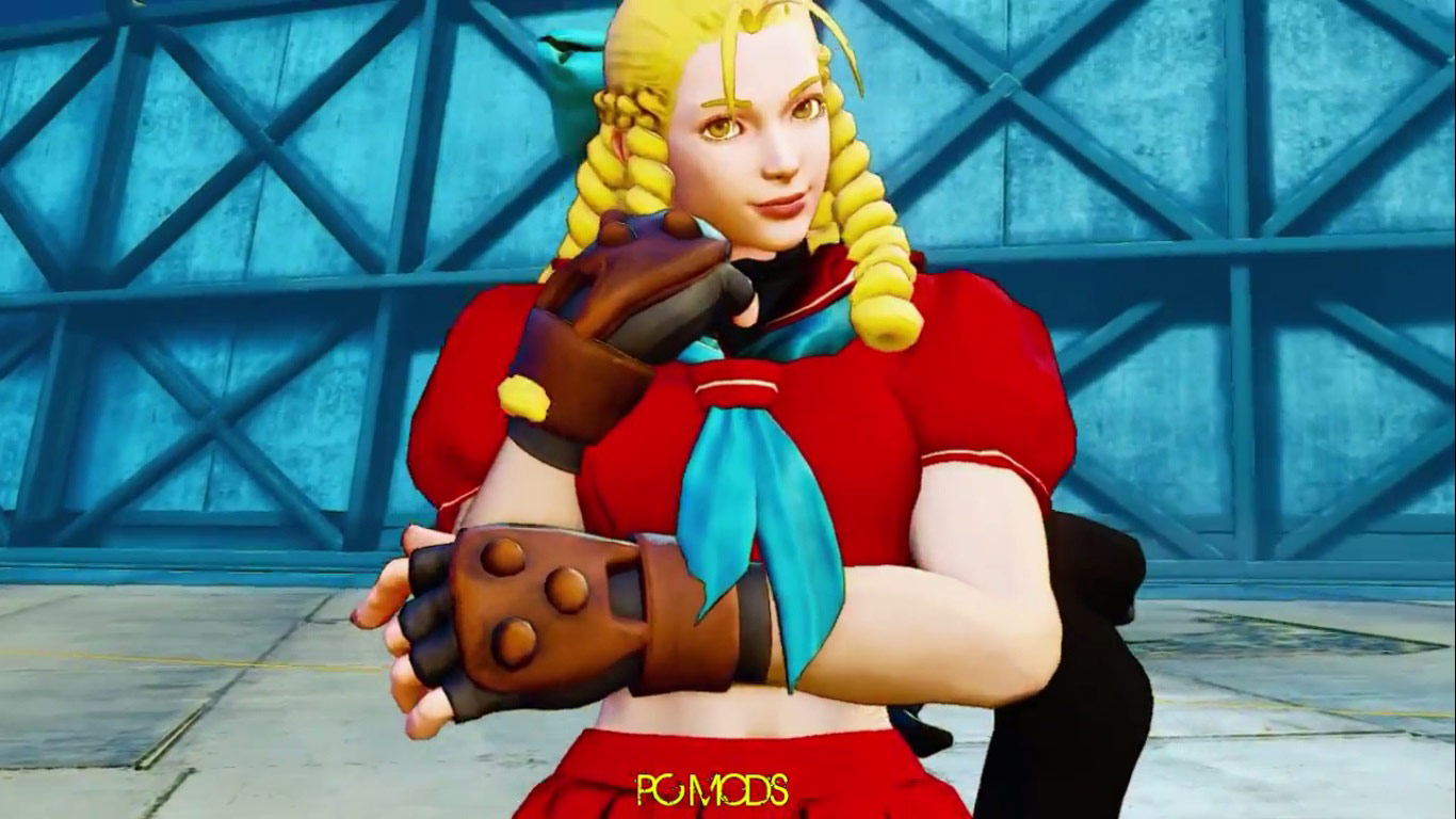 This Street Fighter 5 'nighttime' mod gives stages a whole new